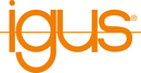 Igus logo vektor orange